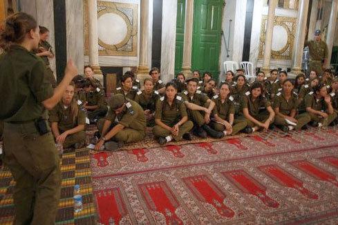 Ibrahimi Mosque disrespected
