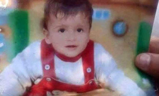 Eighteen-month-old Palestinian toddler Ali Saad Dawabsh died while four family members were wounded in a fire at their homes in the West Bank. (AFP/Jaafar Ashtiyeh)