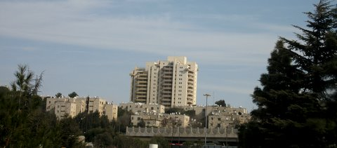 French  Hill Settlement in East Jerusalem