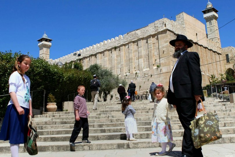 The Ibrahimi Mosque in Hebron was subject to almost 100 violations.