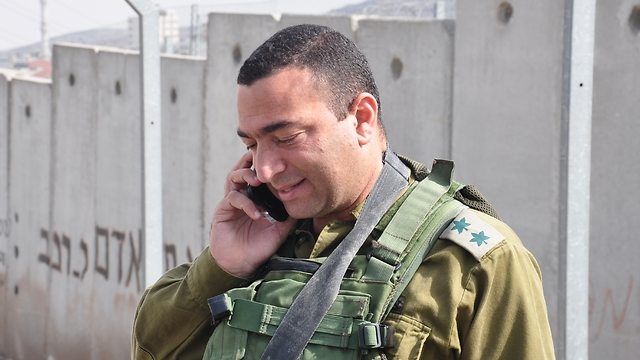 Binyamin Brigade Commander Colonel Israel Shomer. Was he in a life-threatening situation?