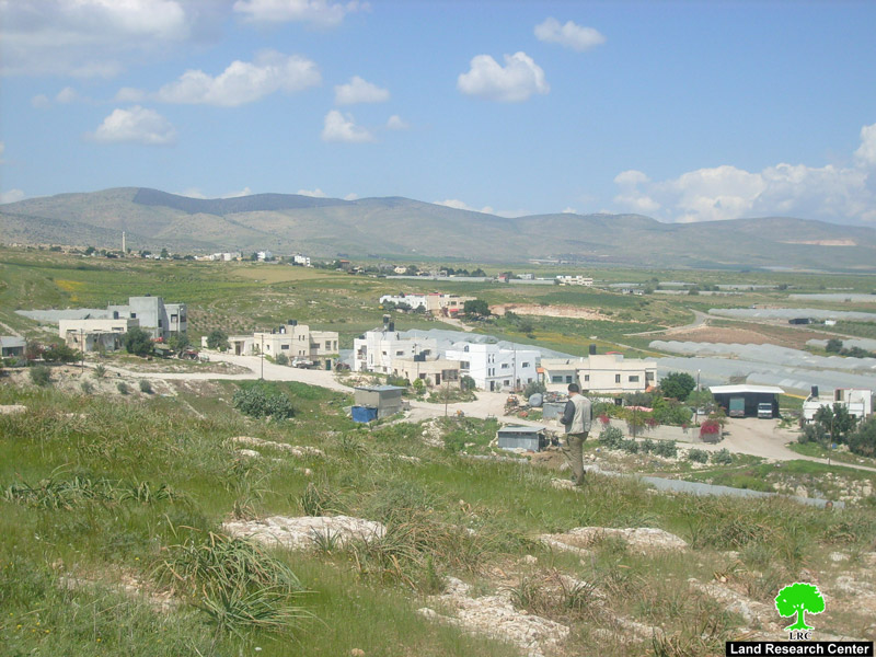Kardala village in the northern Jordan Valley near the city of Tubas