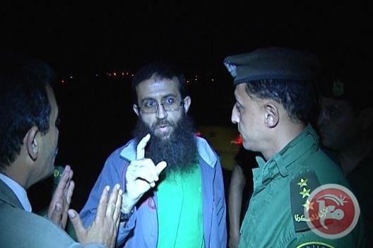 Palestinian prisoner Khader Adnan (MaanImages)
