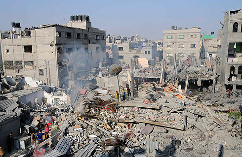 The devastation in Rafah during the conflict. (Photo - Reuters)