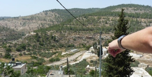 Overlooking Beit Jala valley and Cremisan Monastery