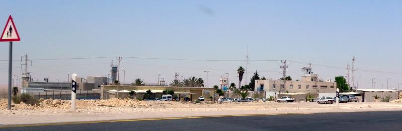 Nafha Prison, 5 miles north of Mitzpe Ramon.