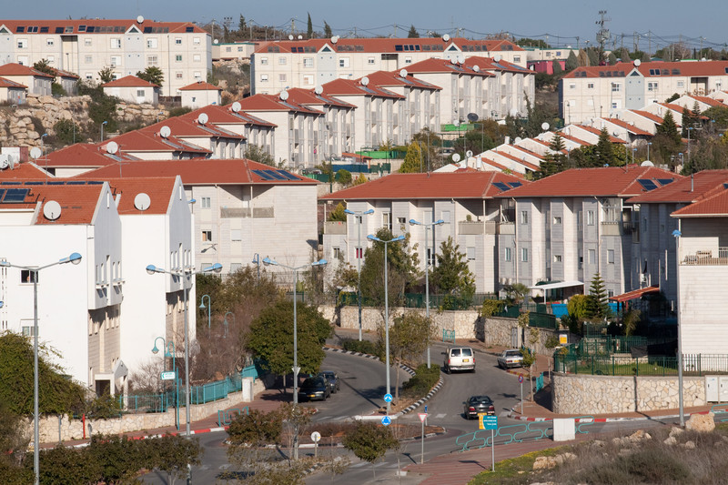 US-based multinational RE/MAX is marketing properties in illegal Jews-only settlements built on stolen Palestinian land such as Ariel, near Salfit in the West Bank. Keren Manor / ActiveStills.