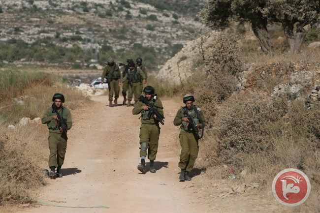 Israeli soldiers on patrol in the occupied West Bank (AFP/Abbas Momani, File)