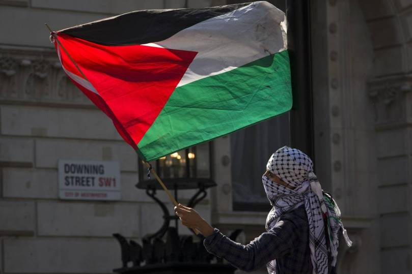 The Palestinian flag will be allowed to fly at the United Nations headquarters in New York. Photo justin tallis Agence France-Presse Getty Images