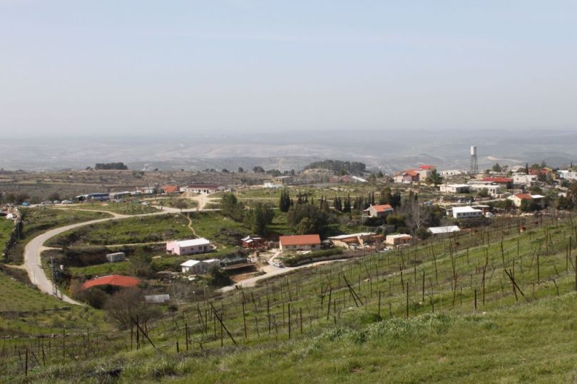 View of the West Bank settlement of Bat Ayin. Photo credit: Gershon Elinson