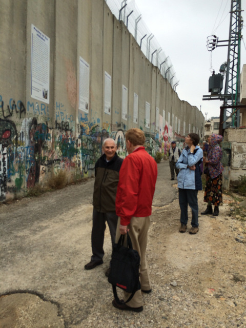 Apartheid wall Bethlehem