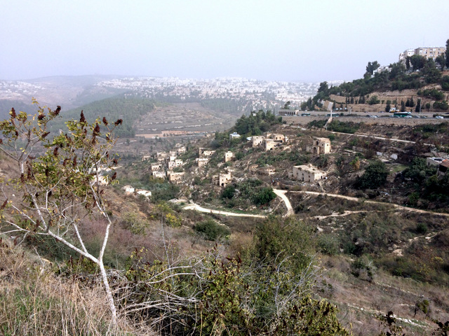 Lifta - depopulated Palestinian Village