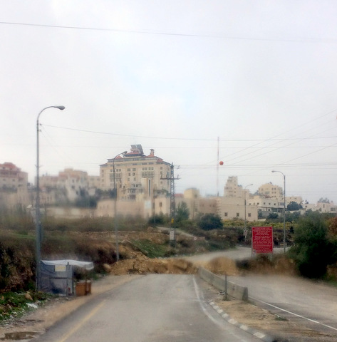 hebron blockade