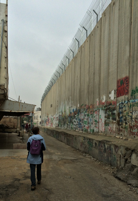 the wall 3134