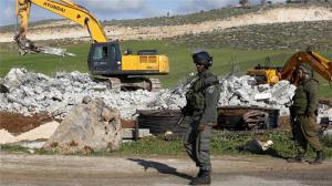 Since the beginning of 2016, Israel has demolished, on average, 29 Palestinian-owned buildings a week, according to the UN (Photo: EPA)