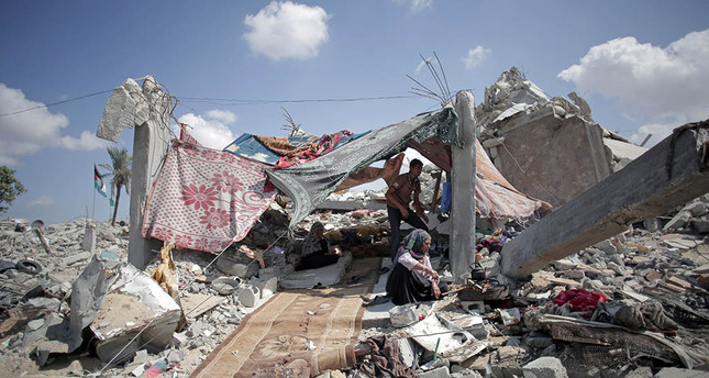 Mideast Gaza Rush to Normalcy