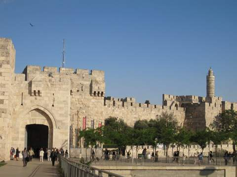 1-Jaffa_Gate_and_Tower_of_David