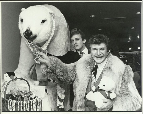 trump and liberace polar bear