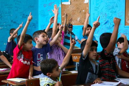 Palestinian-children-and-UNRWA-1